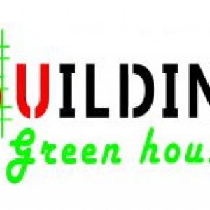 logo building green house