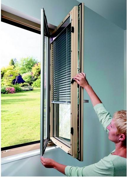 Finestre legno alluminio e pvc plain green - Finestre in alluminio color legno ...
